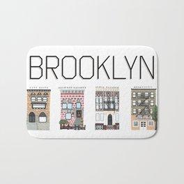 Brooklyn Brownstones Bath Mat