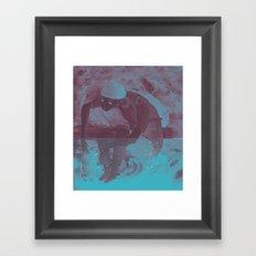 i cant swim Framed Art Print