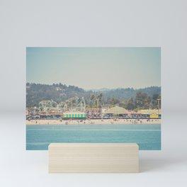 looking back on the boardwalk ...  Mini Art Print
