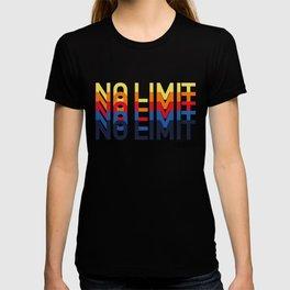 Cool No Limit Live Up Playful Funk Pop Art T-shirt