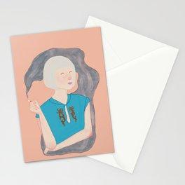 diane, 7:30 AM, february 24 Stationery Cards