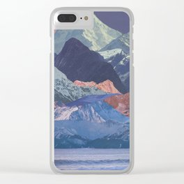 Rainbow Ranges Clear iPhone Case