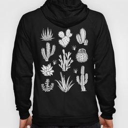Cactus Pattern on Teal Hoody