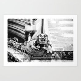 Curmudgeon Art Print