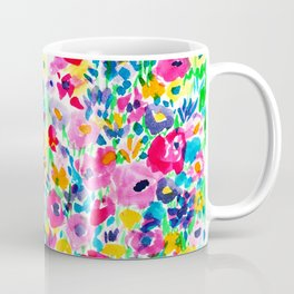 Flower Fields Pink Coffee Mug