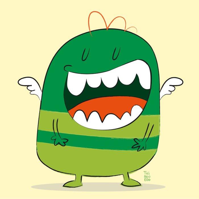 Monster 01 Duvet Cover