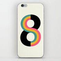 infinity iPhone & iPod Skins featuring Infinity by Andy Westface