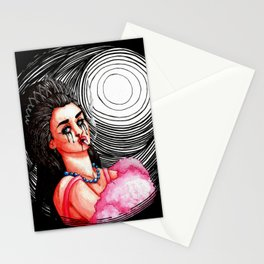Degenerate Beauty Queen Stationery Cards