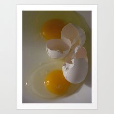 Two Eggs For Me Art Print