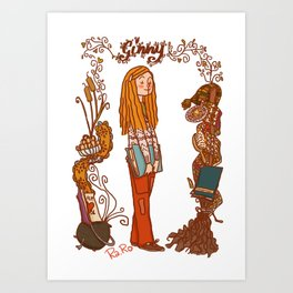 Ginny Art Print