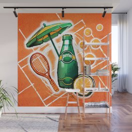 Perrier by Madrica Wall Mural
