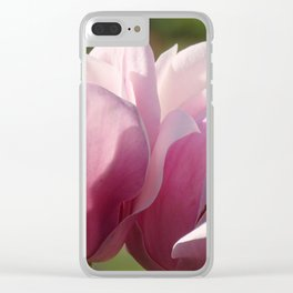 """Tickled Pink"" by ICA PAVON Clear iPhone Case"