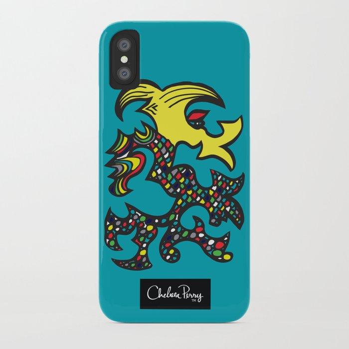 Kissing Dragon iPhone Case