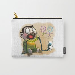 Babies like to bite stuff Carry-All Pouch