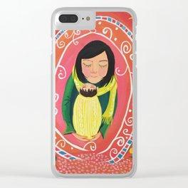 A Little Prayer | Yuko Nagamori Clear iPhone Case