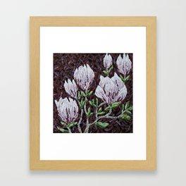 Kay Rouse Flowers Artwork Framed Art Print