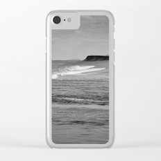 Next stop Antarctica Clear iPhone Case