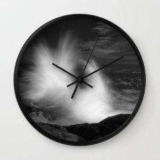 Crashing Light Wall Clock
