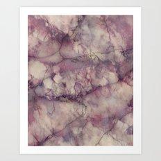 Mystic Marble Art Print