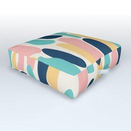 Tall Shapes Outdoor Floor Cushion