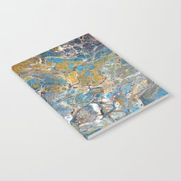 Mineralogy - Abstract Flow Acrylic Notebook