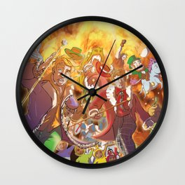 Tha Lowdown Wall Clock