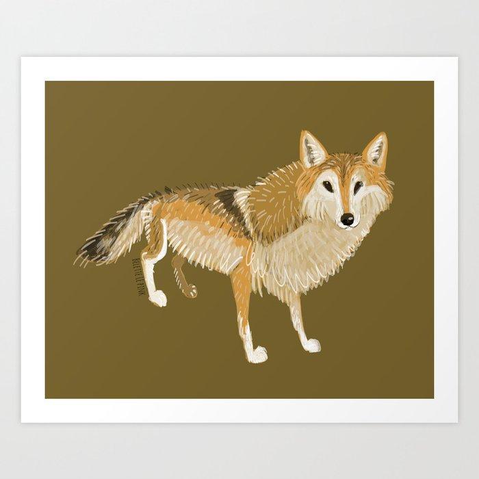 Canis lupus filchneri (c) 2017 Art Print