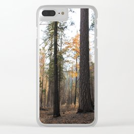 TREEEEES Clear iPhone Case
