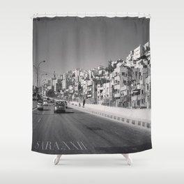 جبل القصور (Hill of Castles)  Shower Curtain