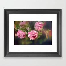 Pink Drift Framed Art Print