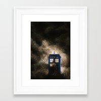 dr who Framed Art Prints featuring Dr. Who by Redeemed Ink by - Kagan Masters