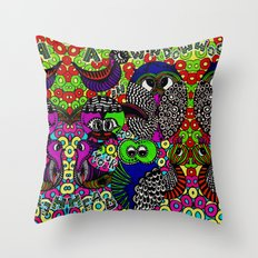 A window in to your head Throw Pillow
