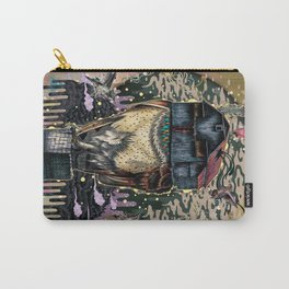 The Barn Owl Fortune Teller Carry-All Pouch