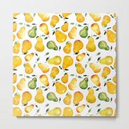 Sweet pears Metal Print