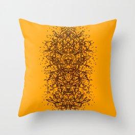 Totem Idol 5 Throw Pillow