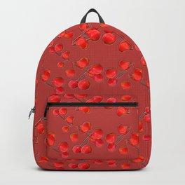 Alizarin Pomegranate Berries Backpack