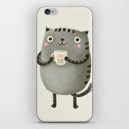 I♥you iPhone Skin