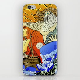 Tales of the Trident:Poseidon iPhone Skin