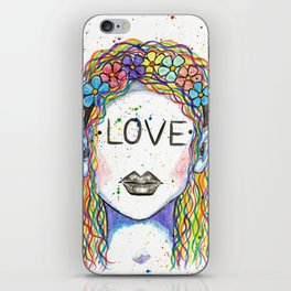"Words Within: ""Love"" iPhone Skin"