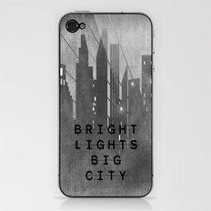 Bright Lights Big City iPhone & iPod Skin
