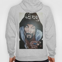 Snoop Dogg Fingerpainted Acrylic Painting Hoody