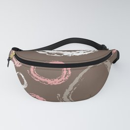 Strawberry Mousse Donuts Fanny Pack