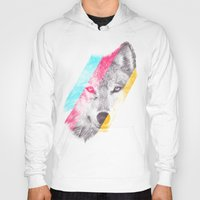 eric fan Hoodies featuring Wild 2 - by Eric Fan and Garima Dhawan by Eric Fan
