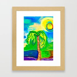Another sunny day in Florida Framed Art Print