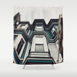 San Fran livin' Shower Curtain