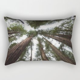Redwood Portal - nature photography Rectangular Pillow