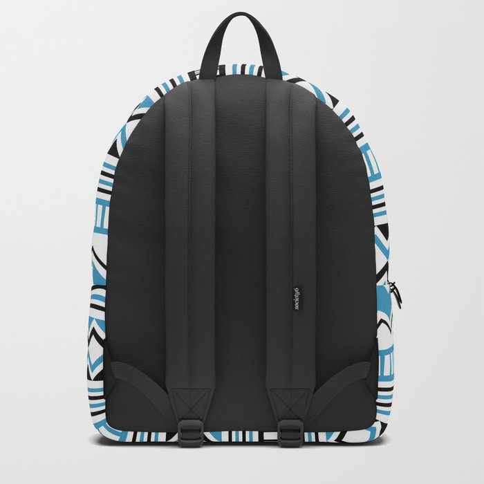Tribal Scarf Backpack