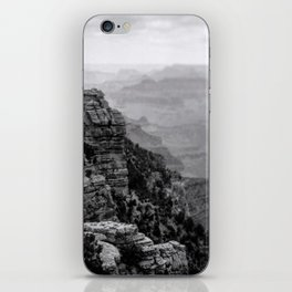 Grand Canyon in Black and White iPhone Skin