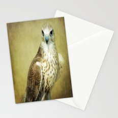The Saker Falcon Stare Stationery Cards