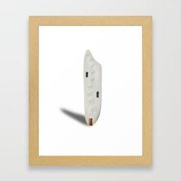 Rice house Framed Art Print